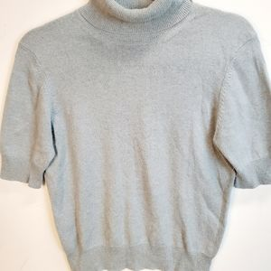 Brooks Brothers 100% Cashmere Blue Sweater